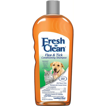 Fresh 'n Clean Flea & Tick Shampoo- New Formula-Lambert Kay / Pet Ag-DirtyFurClothing