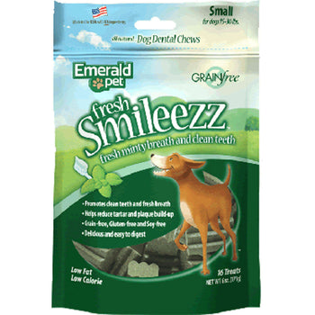 Fresh Smileezz Dog Grain Free Dental Treat-Emerald Pet-DirtyFurClothing