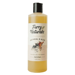 Furry Naturals Oats & Aloe Dog Wash 16oz-Spocket-DirtyFurClothing