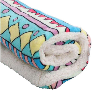 [geometry] Soft Pet Beds Pet Mat Pet Crate Pads Cozy Beds For Dogs-Blancho-DirtyFurClothing