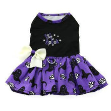 Halloween Dog Harness Dress - Too Cute To Spook-DirtyFurClothing-DirtyFurClothing