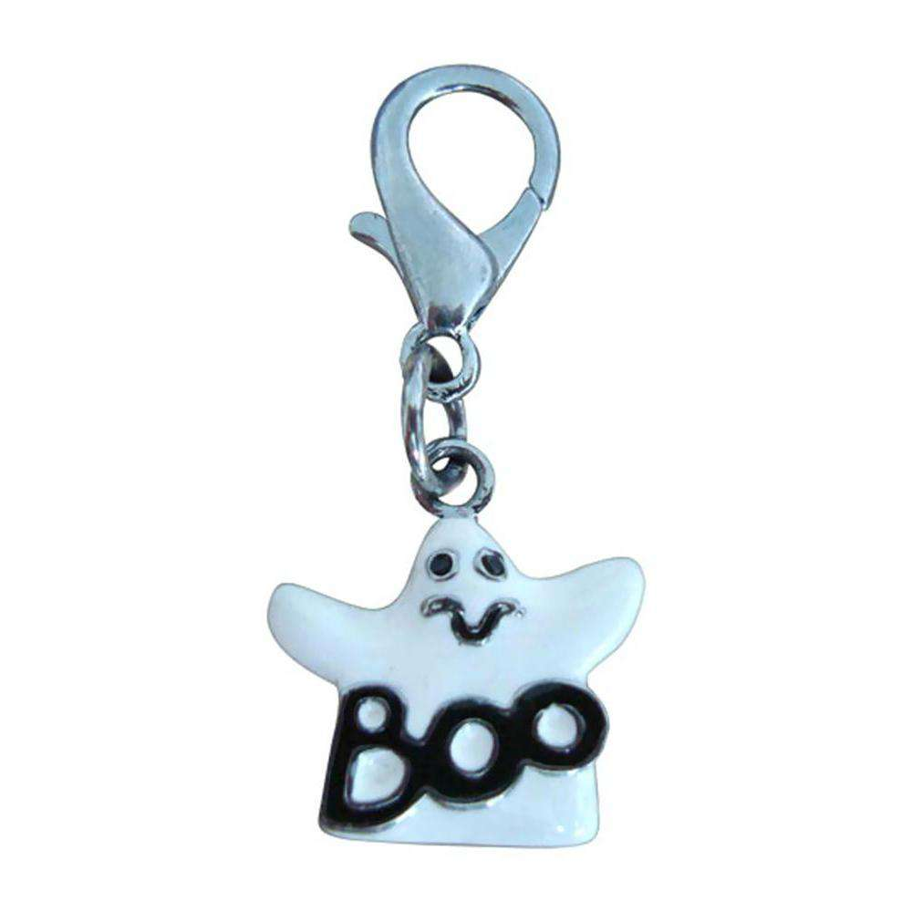Halloween Lobster Claw Charms-zipper Pulls Ghost One Size-Mirage Pet Products-DirtyFurClothing