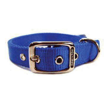 Hamilton Pet Company - Double Thick Nylon Dog Collar-Hamilton Pet Company-DirtyFurClothing
