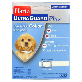 Hartz 3 In 1 Control Flea & Tick Collar For Puppies-HARTZ-DirtyFurClothing