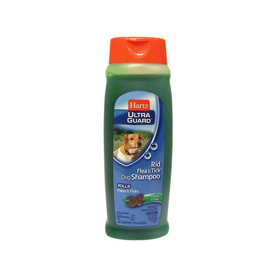 Hartz Rid Flea and Tick Shampoo for Dogs Fresh Scent 18 oz-DirtyFurClothing-DirtyFurClothing