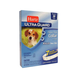 Hartz Ultra Guard Flea & Tick Collar For Dogs, Fits Up To 20