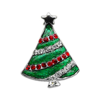Holiday 10mm Slider Charms Christmas Tree-Mirage Pet Products-DirtyFurClothing
