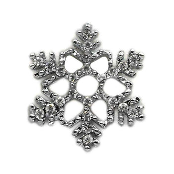 Holiday 10mm Slider Charms Snowflake-Mirage Pet Products-DirtyFurClothing