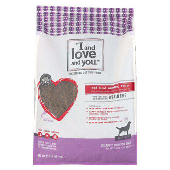 I And Love And You I And Dog Kibble Red Meat - 23 Lb.-I And Love And You-DirtyFurClothing