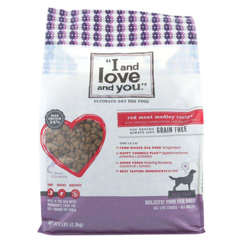 I And Love And You Red Meat Medley - Grain Free - Case Of 3 - 5 Lb.-I And Love And You-DirtyFurClothing