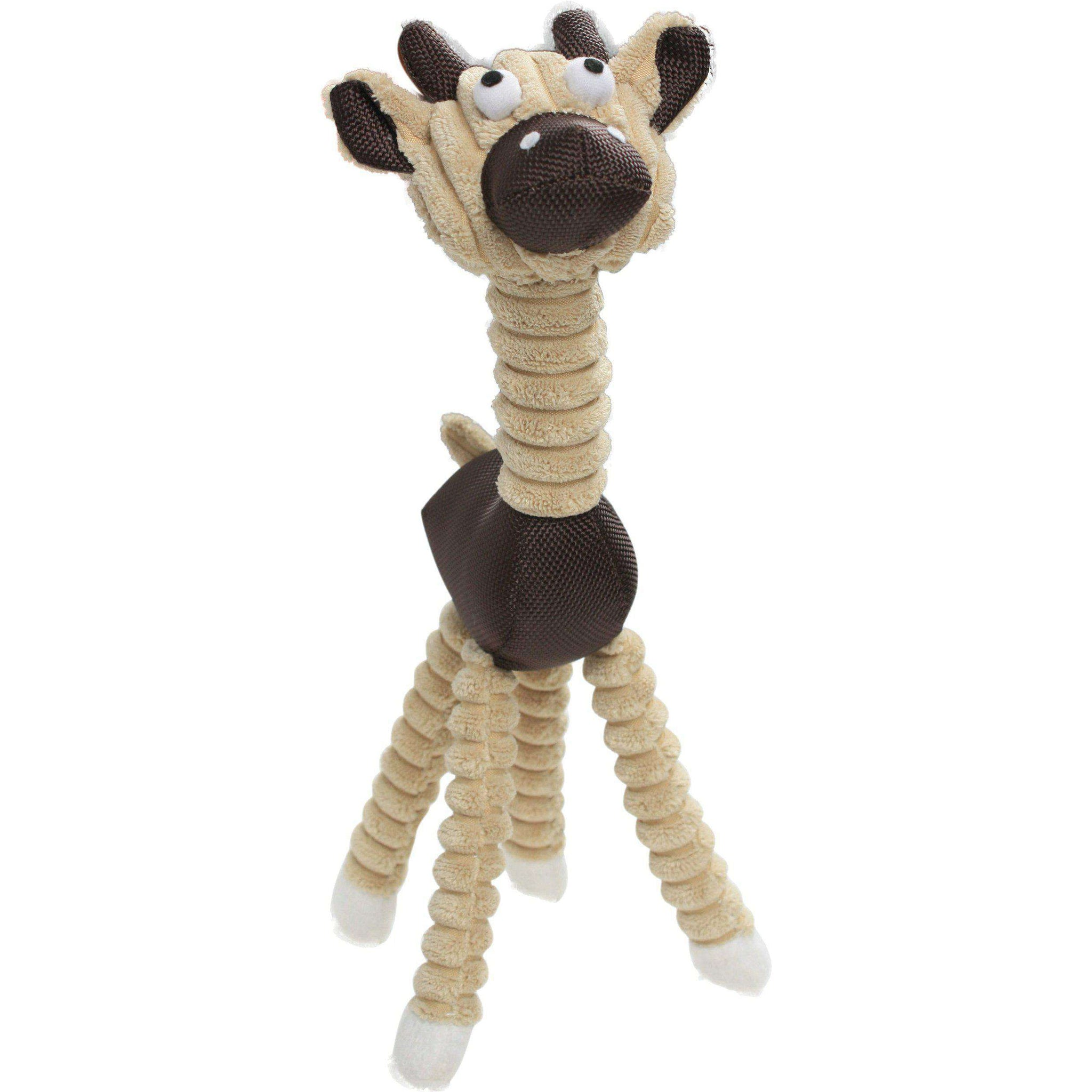 Jute And Rope Giraffe - Cow Pet Toy- Brown-Pet Life-DirtyFurClothing
