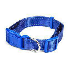 Large Blue Adjustable Reflective Collar-DirtyFurClothing-DirtyFurClothing