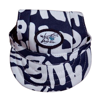 Letter Printing Back And White Pets Hats Peaked Caps Style, S-Panda Superstore-DirtyFurClothing