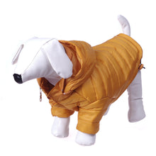 Lightweight Adjustable 'Sporty Avalanche' Pet Coat - Mustard Yellow-Pet Life-DirtyFurClothing