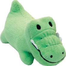 "Li'l Pals 4.5"" Plush Dog Toy-Gator - Green-Coastal Pet Products-DirtyFurClothing"