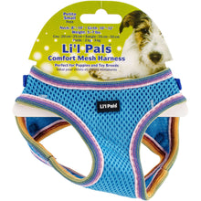 Li'l Pals Comfort Mesh Dog Harness-Blue Lagoon-Petite Small-Coastal Pet Products-DirtyFurClothing