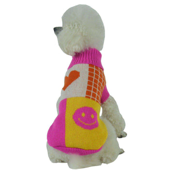 Lovable-Bark Heavy Knit Fashion Pet Sweater-Pet Life-DirtyFurClothing