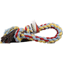Mammoth Pet Products - Flossy Chews 2 Knot Rope Tug Dog Toy-Mammoth Pet Products-DirtyFurClothing