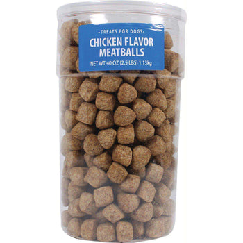Meatballs Chicken Treats For Dogs-Triumph-DirtyFurClothing