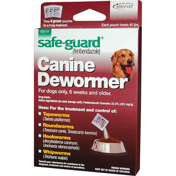 Merck Ah Equine D - Safeguard Dog Dewormer-Merck Ah Equine D-DirtyFurClothing