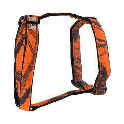 Mossy Oak Basic Dog Harness, Orange, Medium-DirtyFurClothing-DirtyFurClothing