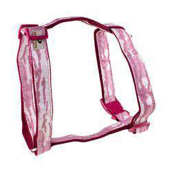 Mossy Oak Basic Dog Harness, Pink, Medium-DirtyFurClothing-DirtyFurClothing