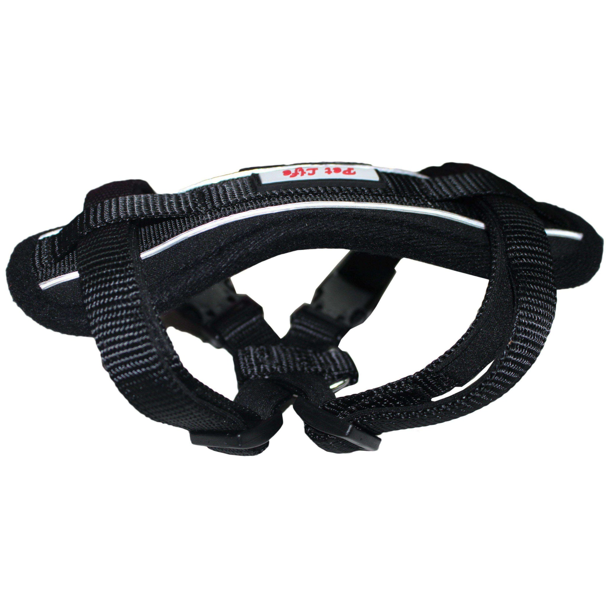 Mountaineer Chest Compression Adjustable Reflective Easy Pull Dog Harness-Pet Life-DirtyFurClothing