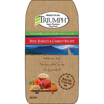 Natural Dog Food - Beef-Triumph-DirtyFurClothing