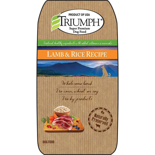 Natural Dog Food - Lamb-Triumph-DirtyFurClothing