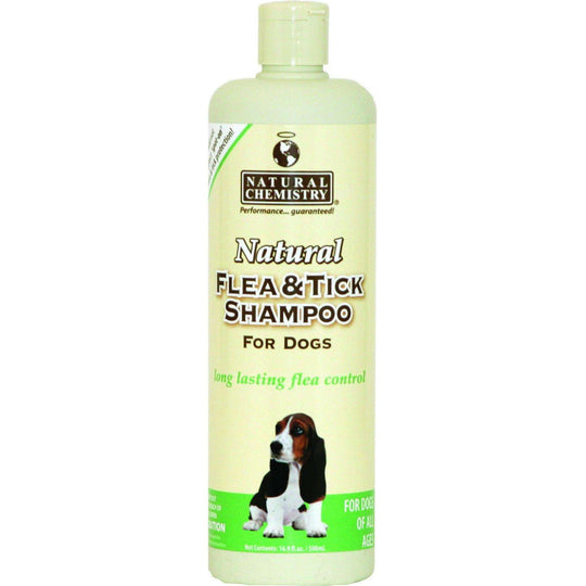 Natural Flea & Tick Shampoo-Natural Chemistry-DirtyFurClothing