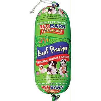 Natural Roll Dog Food - Beef-Redbarn-DirtyFurClothing