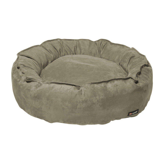 Nest Bed - Medium-stone Suede-Big Shrimpy-DirtyFurClothing