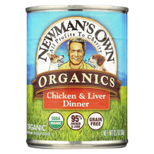 Newman's Own Organics Canned Dog Food - Chicken And Liver - Case Of 12 - 12.7 Oz.-Newman's Own Organics-DirtyFurClothing