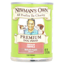 Newman's Own Organics Organic Canned Dog Food Can - Chicken - Case Of 12 - 12.7 Oz.-Newman's Own Organics-DirtyFurClothing
