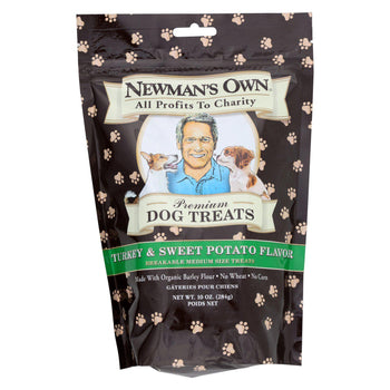 Newman'S Own Organics Turkey And Sweet Potato Treats - Organic - Case Of 6 - 10 Oz.-Newman's Own Organics-DirtyFurClothing