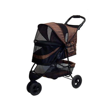 No-zip Special Edition Dog Stroller - Chocolate-Pet Gear-DirtyFurClothing