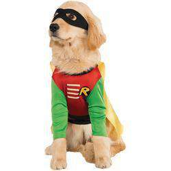 Pet Costume Robin Medium-DirtyFurClothing-DirtyFurClothing