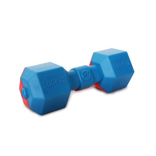 Pet Life Dumbbell Durable Water Floating Chew And Fetch Dog Toy-Pet Life-DirtyFurClothing