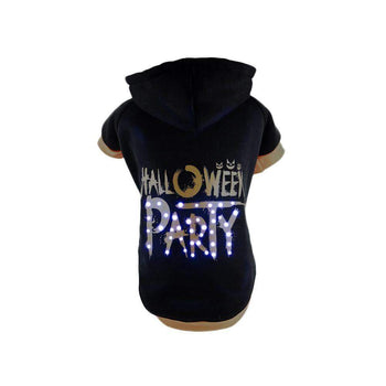 Pet Life Led Lighting Halloween Party Hooded Sweater Pet Costume-Pet Life-DirtyFurClothing