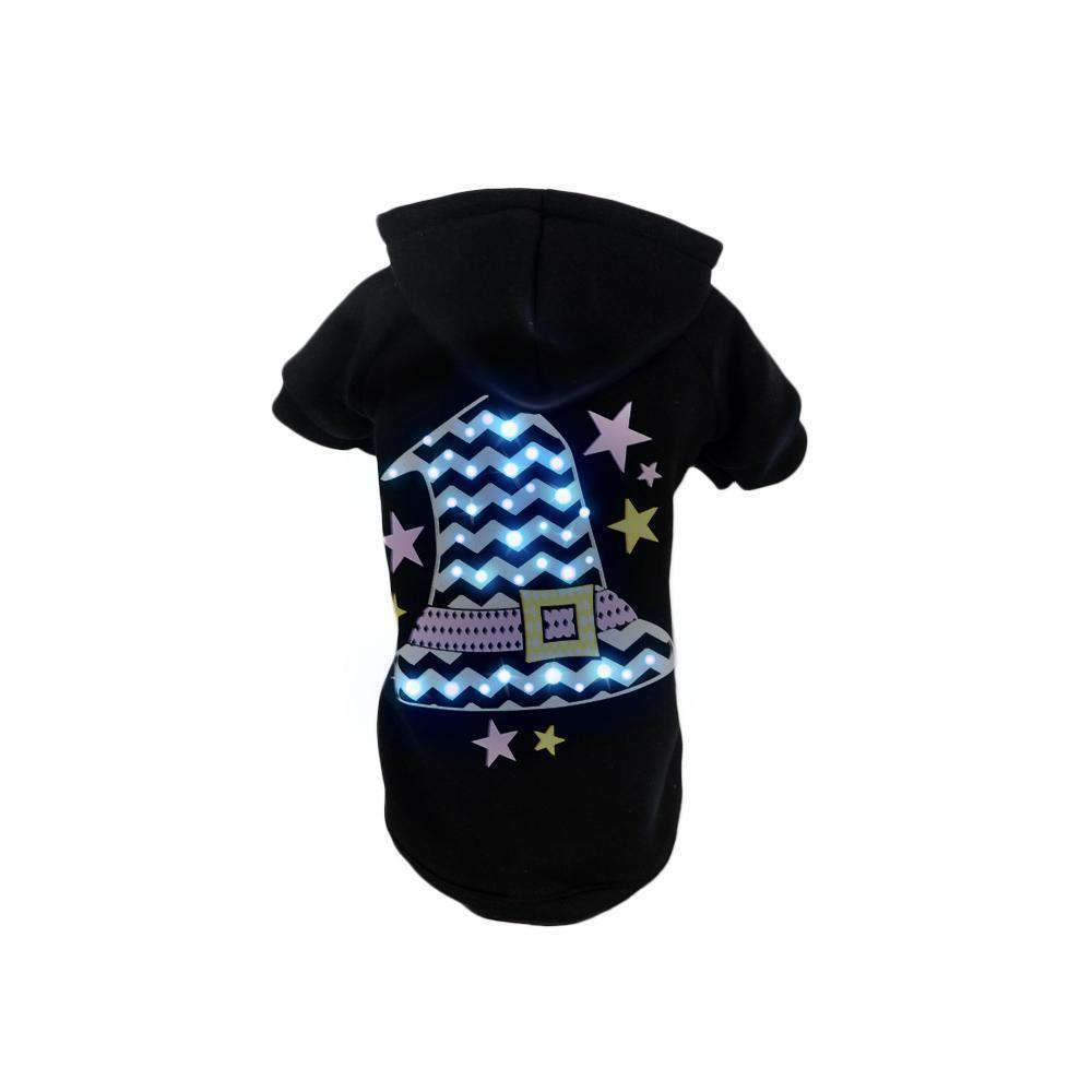 Pet Life Led Lighting Magical Hat Hooded Sweater Pet Costume-Pet Life-DirtyFurClothing