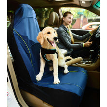 Pet Life Open Road Mess-Free Single Seated Safety Car Seat Cover Protector For Dogs-Pet Life-DirtyFurClothing