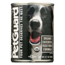 Petguard Canned Dog Foods - Organic Chicken And Vegetable - Case Of 12 - 12.7 Oz.-Petguard-DirtyFurClothing