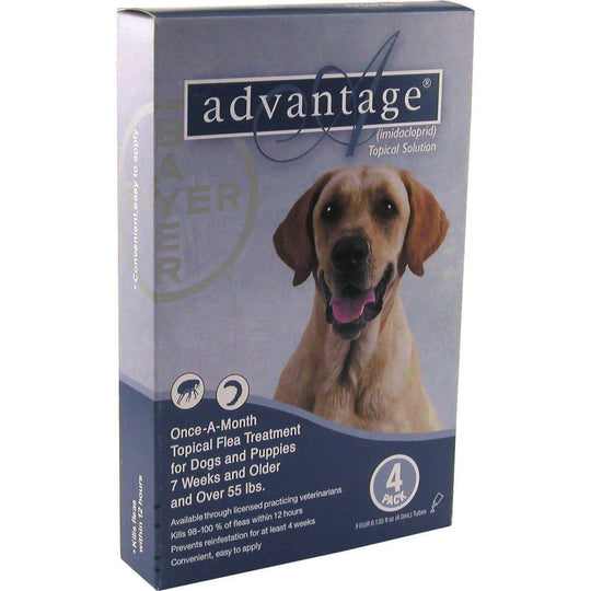 Petiq Flea & Tick - Advantage Ii Dog Blue-Petiq Flea & Tick-DirtyFurClothing