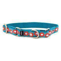 Petsafe Fido Finery Martingale Style Collar (1 Large, Teal My Heart)-DirtyFurClothing-DirtyFurClothing