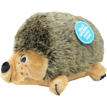 Petstages - Hedgehogz Plush Squeaker Dog Toy-Petstages-DirtyFurClothing