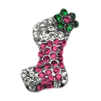 Pink And Purple Stocking Charms Pink-Mirage Pet Products-DirtyFurClothing