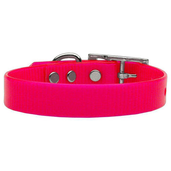 Plain Tropical Jelly Collars Pink Small-Mirage Pet Products-DirtyFurClothing