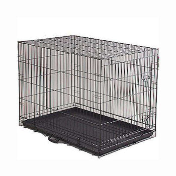 Prevue Hendryx Indoor - Outdoor Economy Medium Size Portable Dog Crate With Large Front Door And Lock-Prevue Hendryx-DirtyFurClothing
