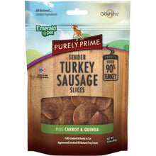 Purely Prime Turkey Sausage Slices Grain Free Dog Treats-Emerald Pet-DirtyFurClothing