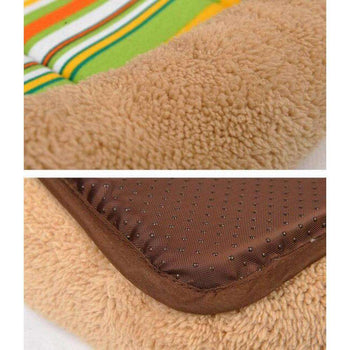 [rainbow] Soft Pet Beds Pet Mat Pet Crate Pads Cozy Beds For Dogs-Blancho-DirtyFurClothing